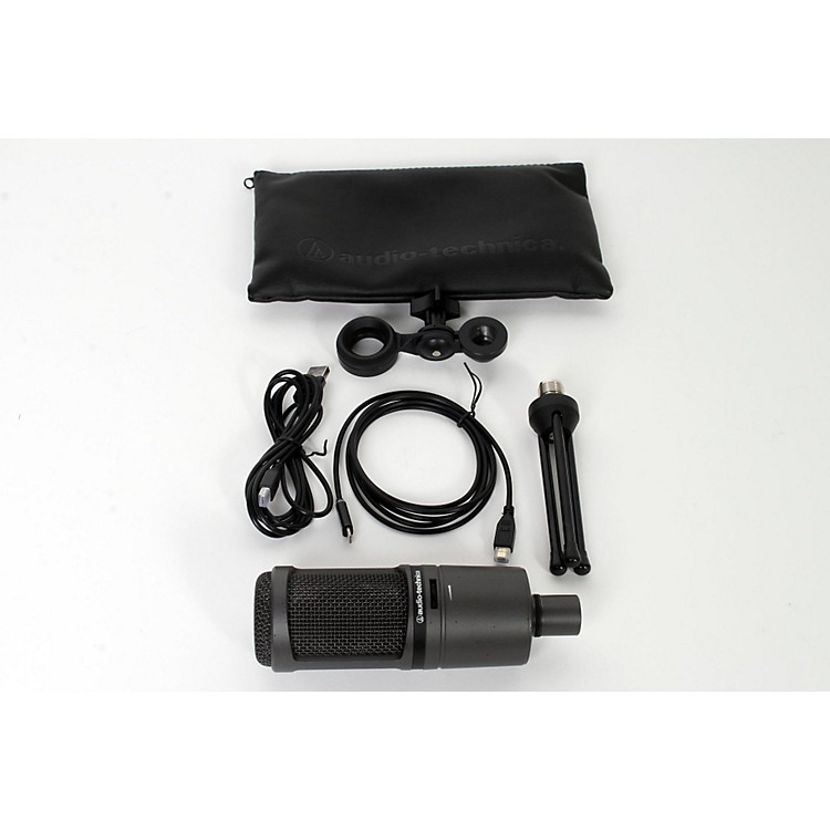 Audio-Technica AT2020USBi Cardioid Condenser Microphone for iOS, Mac, and PC  888365840888
