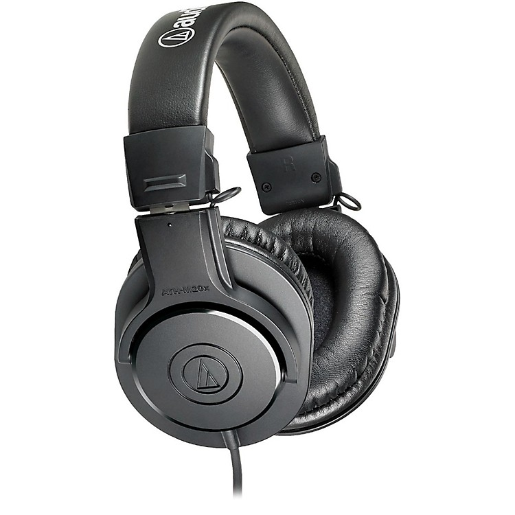 Audio-TechnicaATH-M20x Closed-Back Professional Studio Monitor HeadphonesBlack