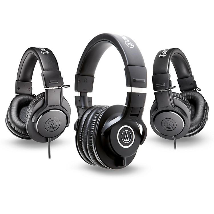 Audio-TechnicaATH-M40x Headphones with 2 ATH-M20x Headphones