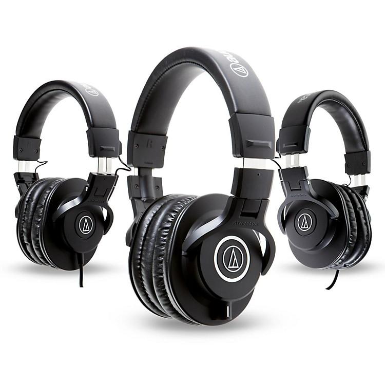 Audio-TechnicaATH-M40x Headphones with 2 ATH-M30x Headphones
