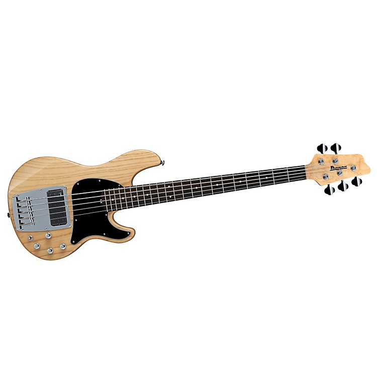 Ibanez ATK205 5-String Electric Bass Natural