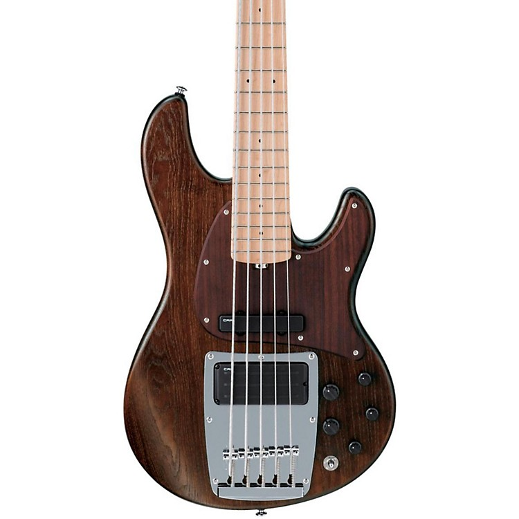 IbanezATK805E Premium 5-String Bass GuitarWalnut Flat