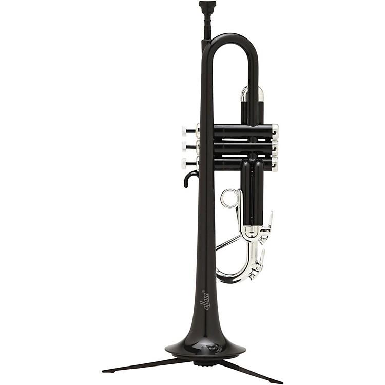 AlloraATR-1301M Aere Metallic Series Plastic Bb TrumpetMetallic Black - Silver Trim