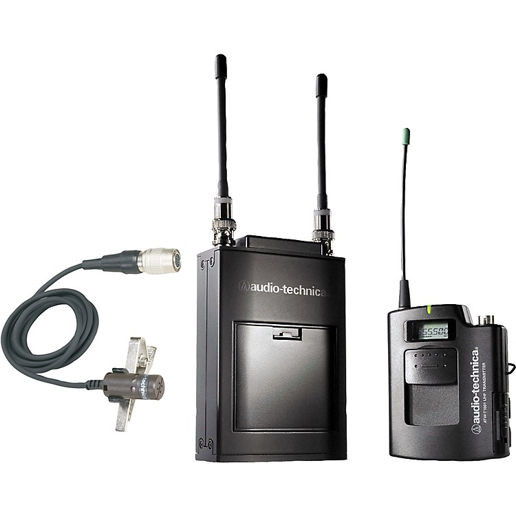 Audio-Technica ATW-1821 1800 Series Dual Channel Camera Mount UHF Wireless System Band D