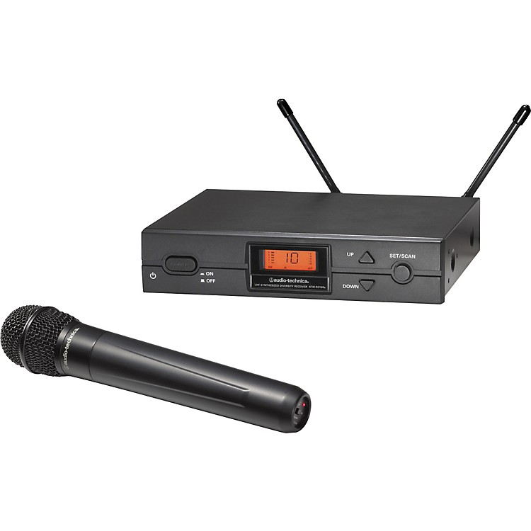 Audio-Technica ATW-2120a 2000 Series Handheld Wireless System Band D