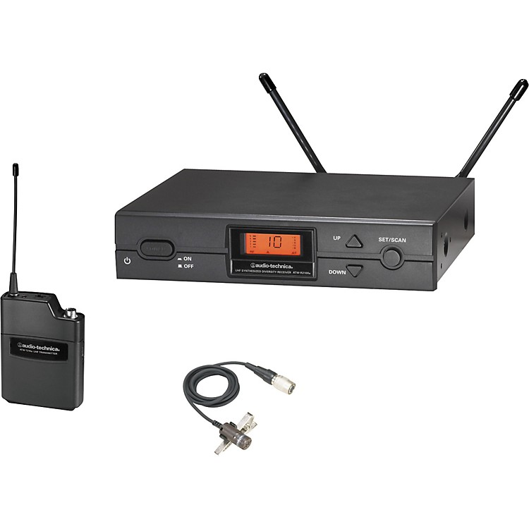 Audio-Technica ATW-2129a 2000 Series Lav Wireless System Band D