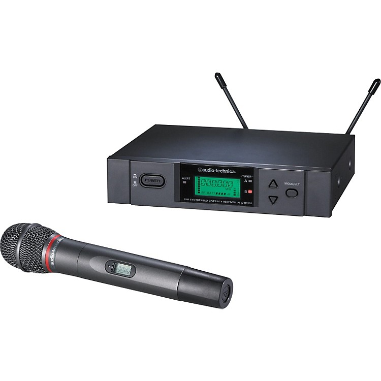 Audio-Technica ATW-3141b 3000 Series Dynamic Microphone Wireless System Band C
