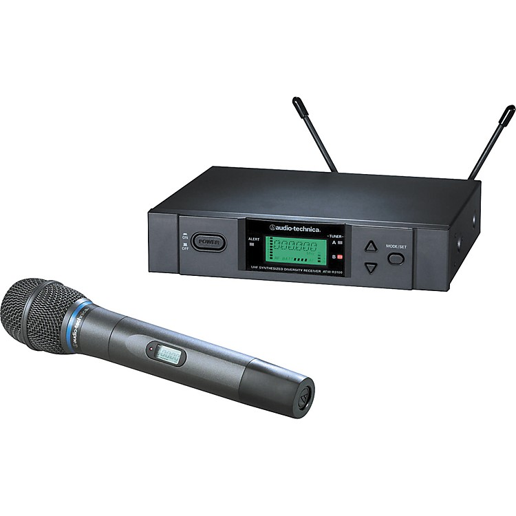 Audio-Technica ATW-3171b 3000 Series Wireless Dynamic Microphone System Band D