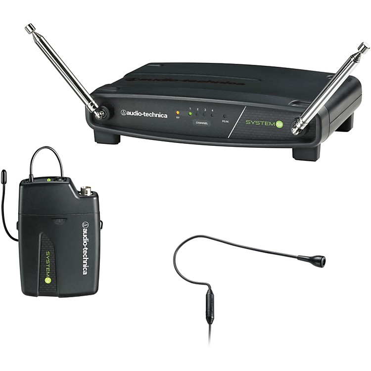 Audio-Technica ATW-901/H92 System 9 VHF Wireless Headset Microphone System 169.505 - 171.905 MHz