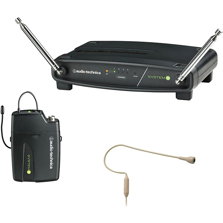Audio-Technica ATW-901/H92-TH System 9 VHF Wireless Headset Microphone System 169.505 - 171.905 MHz