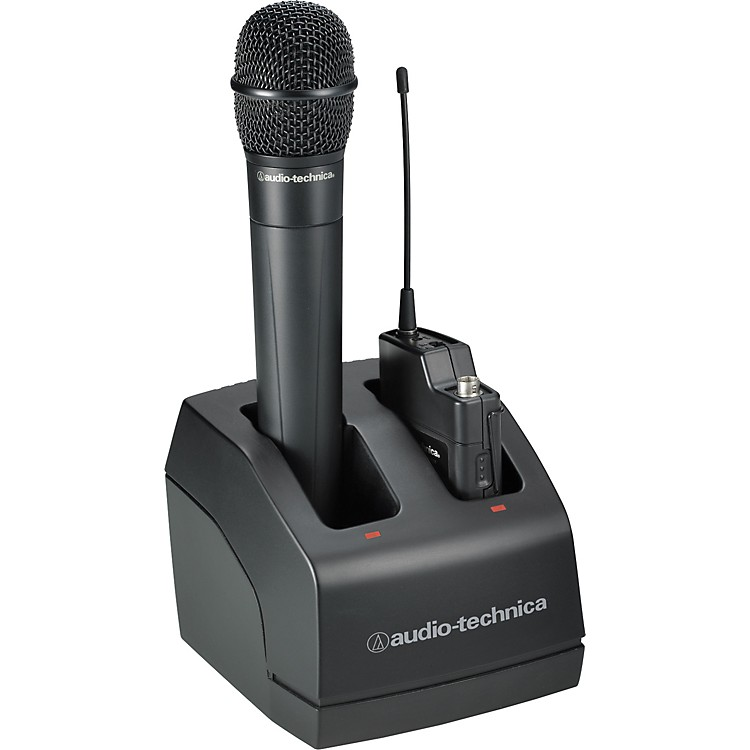 Audio-Technica ATW-CHG2 dual bay recharge station for ATW-2000A Wireless