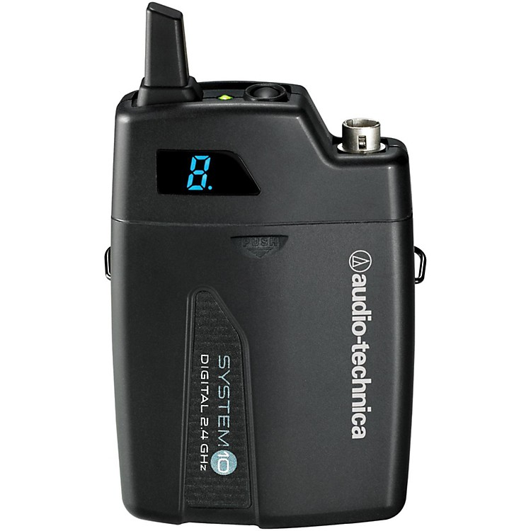 Audio-TechnicaATW-T1001 System 10 Wireless Bodyback TransmitterBlack