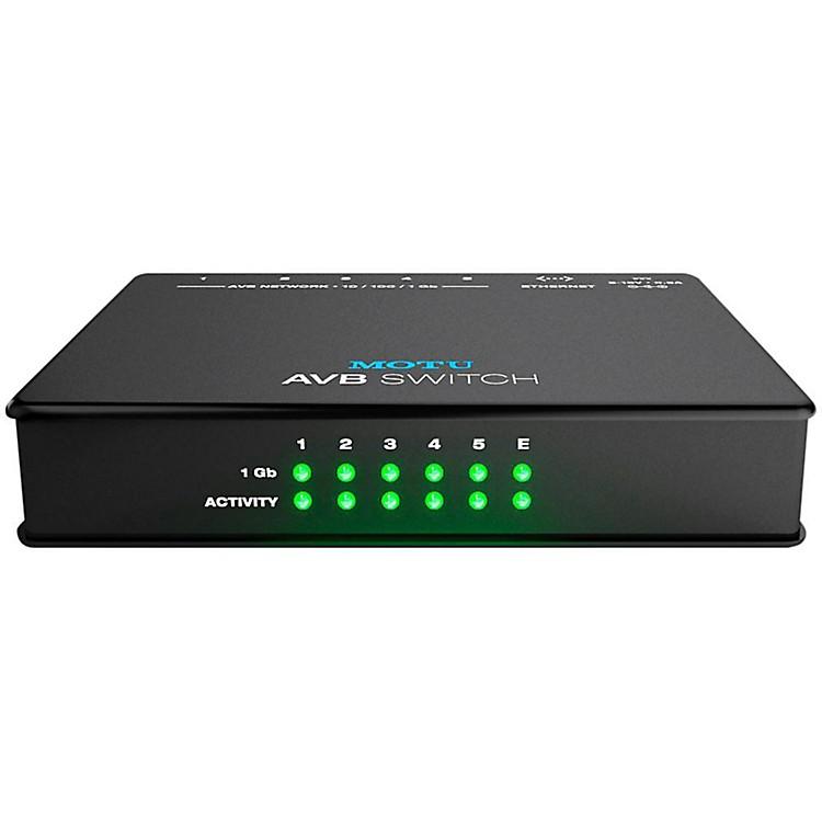MOTUAVB Switch Five-Port AVB Ethernet Switch