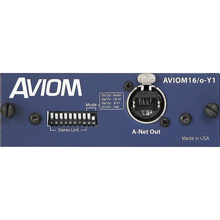 AviomAVIOM16/o-Y1 Card for Yamaha Digital MixersAviom Blue