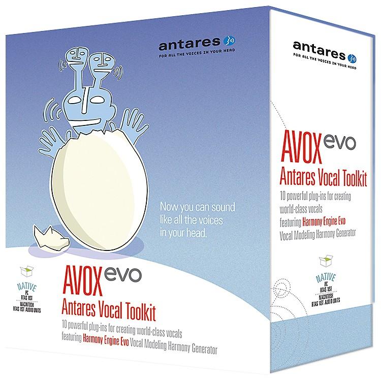 AntaresAVOX Evo Antares Vocal Toolkit Software