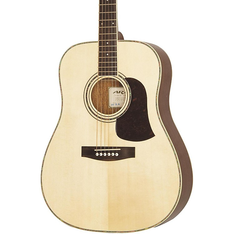 Aria AW-35 Acoustic Guitar Natural
