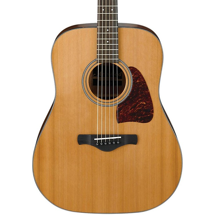 Ibanez AW450NT Artwood Solid Top Dreadnought Acoustic Guitar Natural