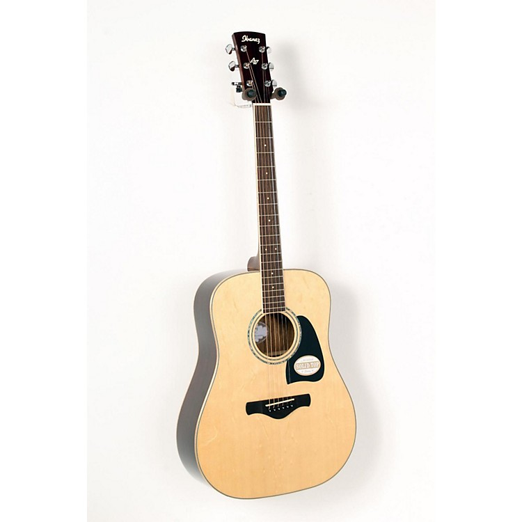 Ibanez AW535NT Artwood Solid Top Dreadnought Acoustic Guitar Gloss Natural 888365589701