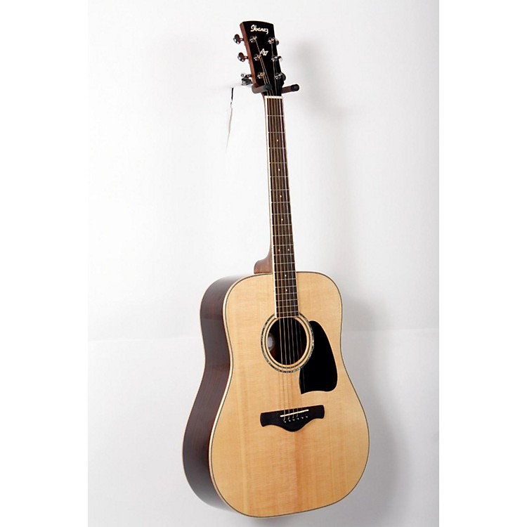 Ibanez AW535NT Artwood Solid Top Dreadnought Acoustic Guitar Gloss Natural 888365745473