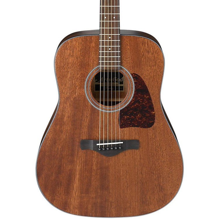 IbanezAW54OPN Artwood Solid Top Dreadnought Acoustic GuitarOpen Pore Natural