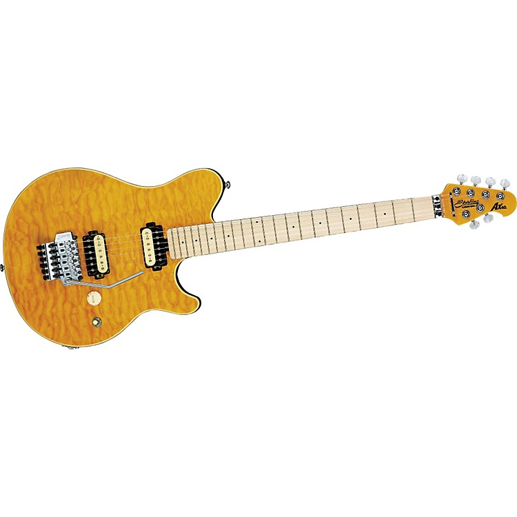 Sterling by Music Man AX40 Electric Guitar Transparent Gold