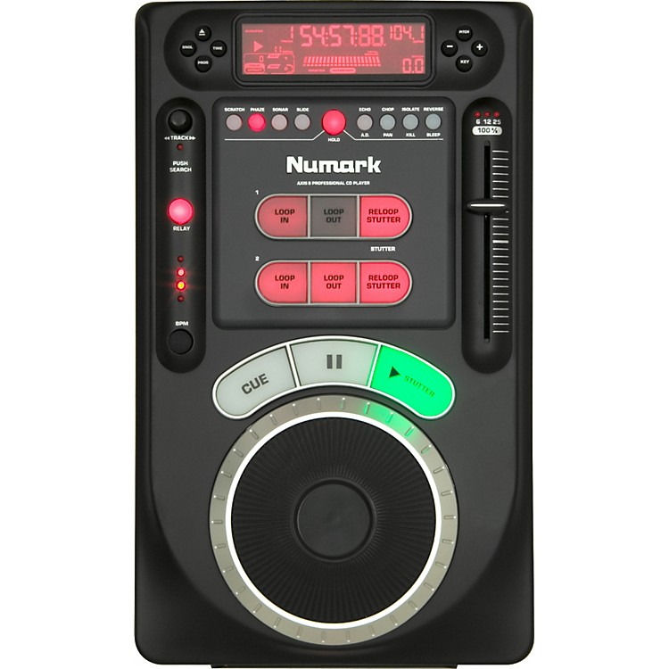 Numark AXIS 9 Tabletop CD Player with Effects