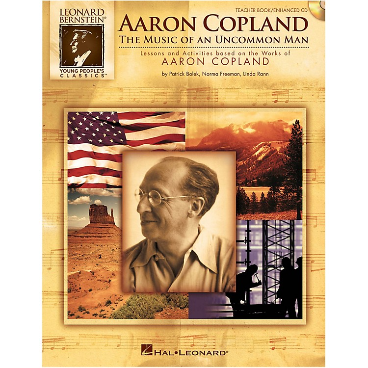 Hal Leonard Aaron Copland: The Music Of An Uncommon Man Student Book 5-Pak