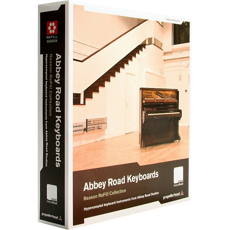 Propellerhead Abbey Road Keyboards Reason ReFill Collection