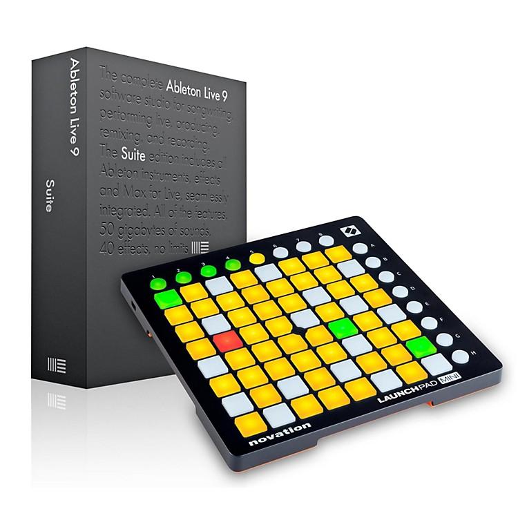 AbletonAbleton Live 9.5 Suite with Novation Launchpad Mini MKII
