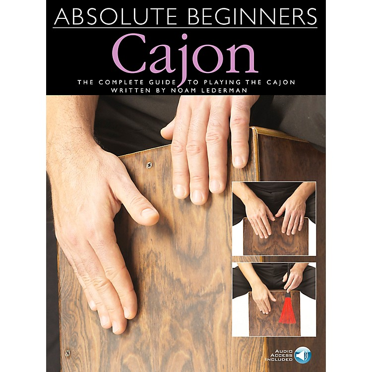 Music Sales Absolute Beginners Cajon Book/CD