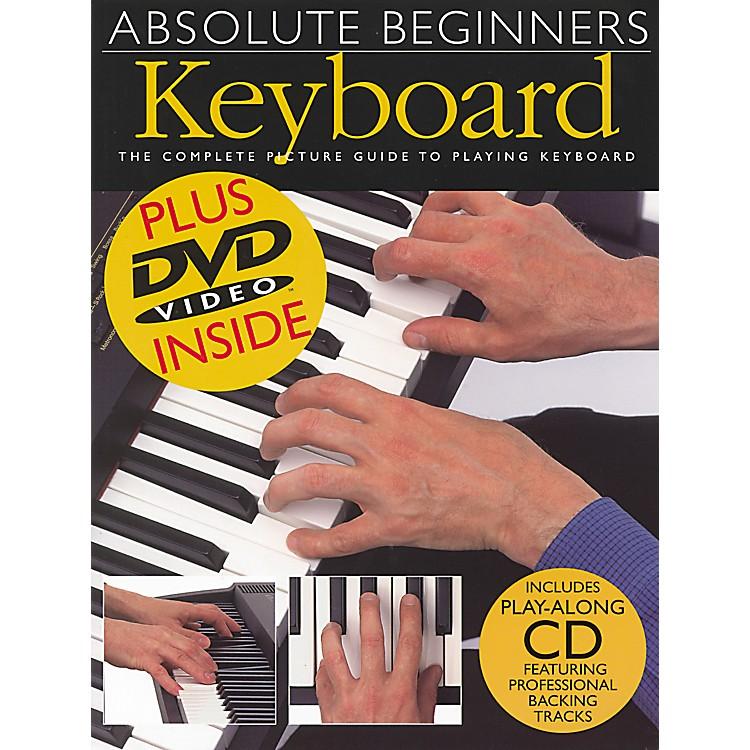 Music SalesAbsolute Beginners Keyboard Book/CD/DVD