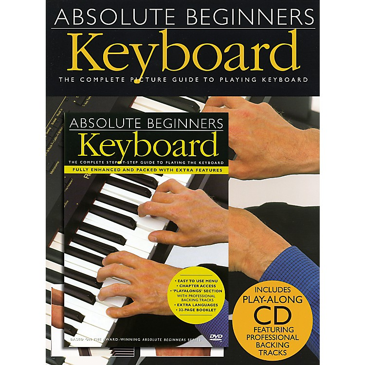 Music SalesAbsolute Beginners: Keyboard (Book/CD/DVD)