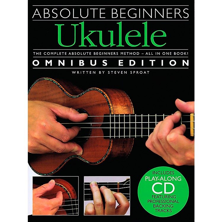 Music SalesAbsolute Beginners Ukulele - Books 1 & 2 with CD
