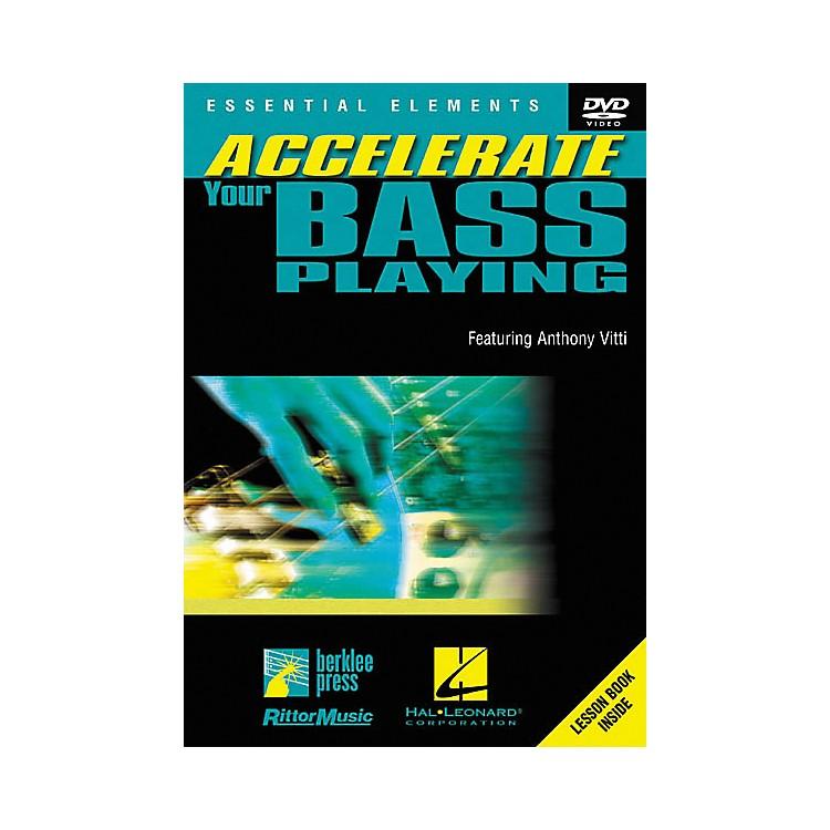HomespunAccelerate Your Bass Playing (DVD)