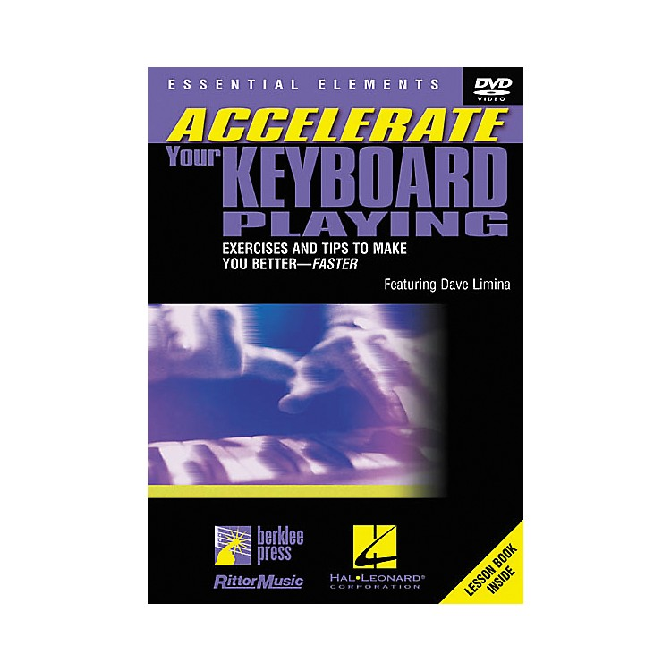 Berklee PressAccelerate Your Keyboard Playing (DVD)