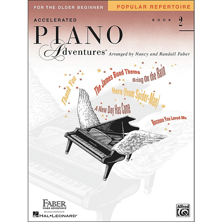 Faber Music Accelerated Piano Adventures Pop Repertoire Book 2 - Faber Piano