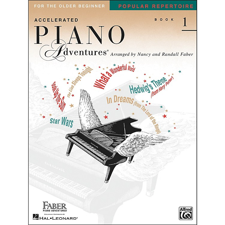 Faber Music Accelerated Piano Adventures Pop Repertoire Book1 - Faber Piano
