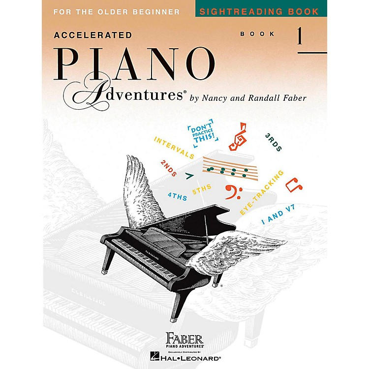 Faber Piano AdventuresAccelerated Piano Adventures Sightreading Book 1
