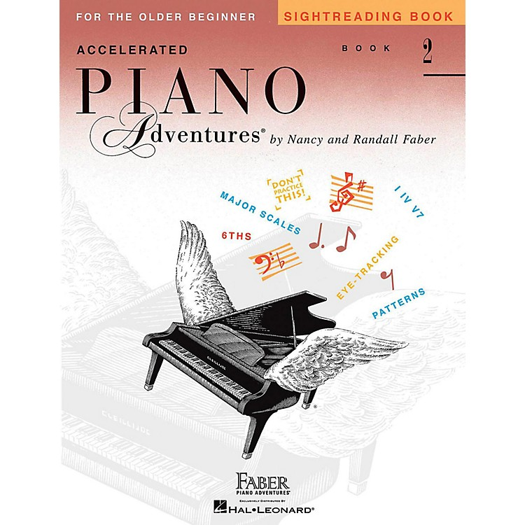 Faber Piano AdventuresAccelerated Piano Adventures Sightreading Book 2