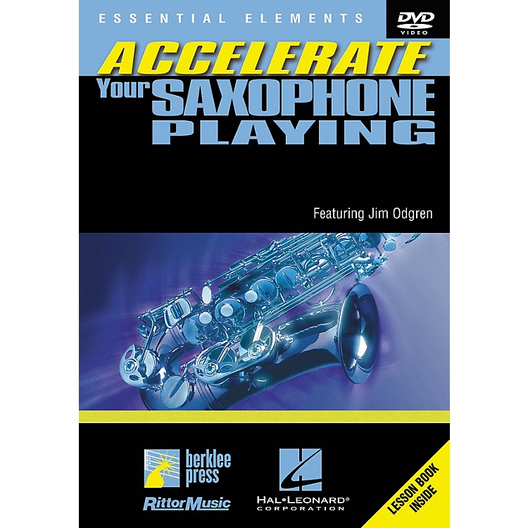 Berklee Press Accellerate Your Saxophone Playing (DVD)
