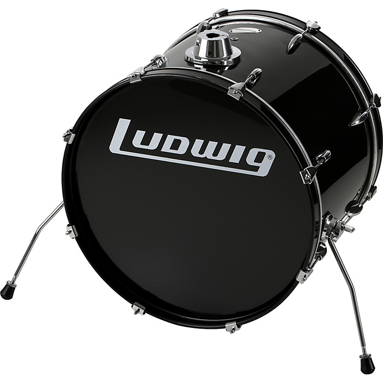 ludwig accent bass drum music123. Black Bedroom Furniture Sets. Home Design Ideas