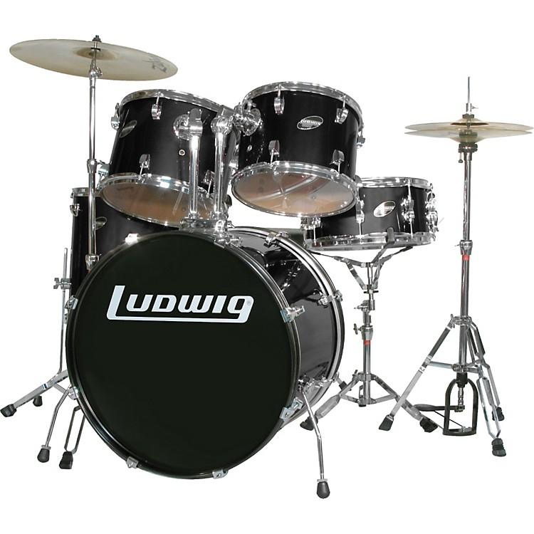 Ludwig Accent Combo with Zildjian ZBT Cymbal Set