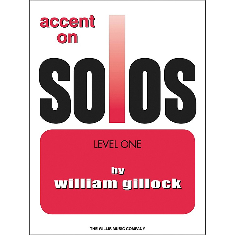 Willis MusicAccent On Solos Level One