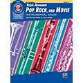 BELWIN Accent on Achievement Pop, Rock, and Movie Instrumental Solos Alto Saxophone Book & CD