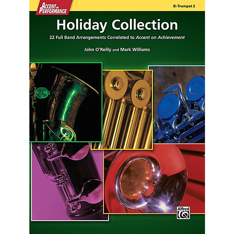 AlfredAccent on Performance Holiday Collection Trumpet 2 Book