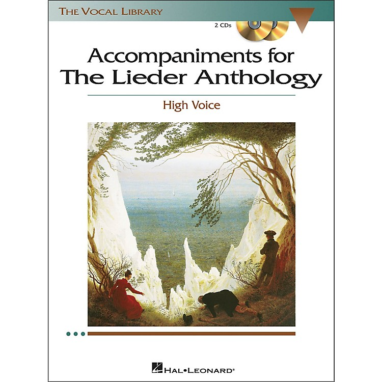 Hal Leonard Accompaniments for The Lieder Anthology for High Voice 2CD's