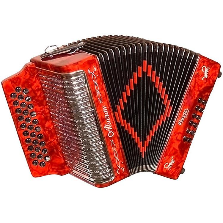 AlacranAccordion AL3112 Red with CaseFBE