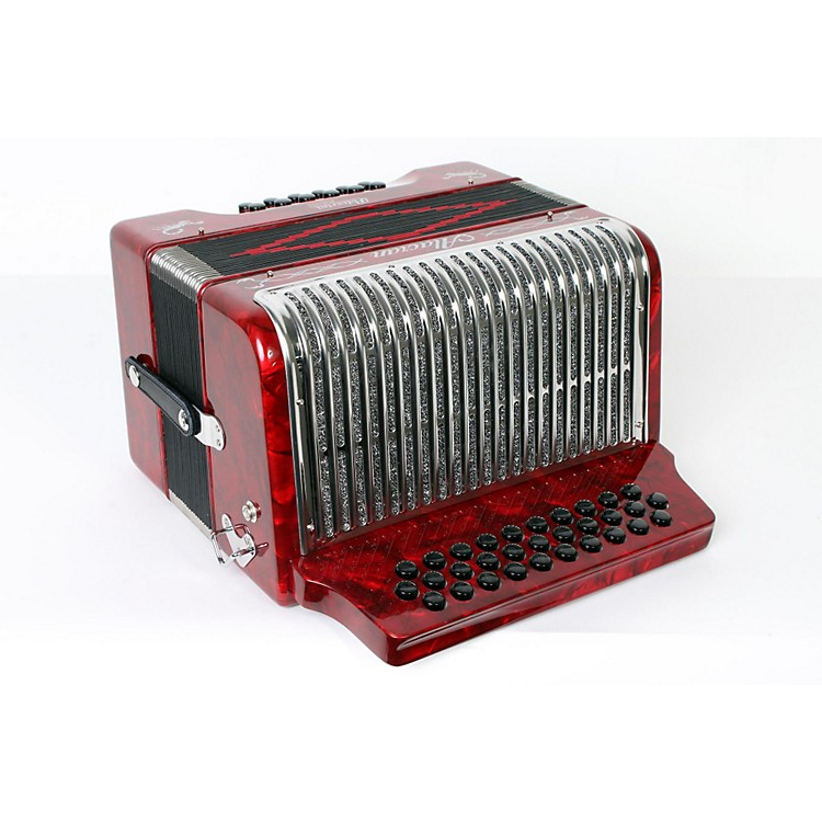 Alacran Accordion AL3112 Red with Case GCF 888365837888