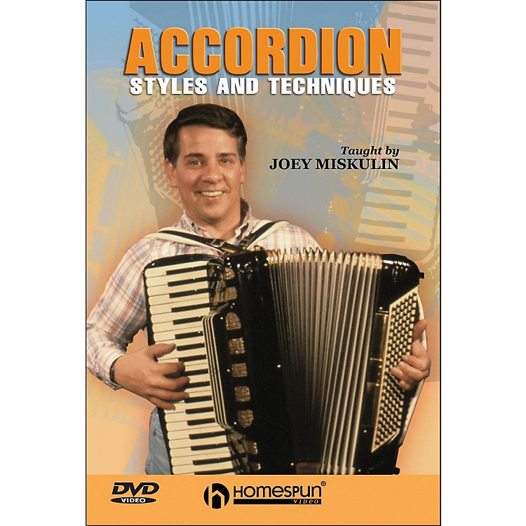 HomespunAccordion Styles And Techniques (DVD)