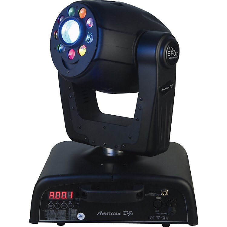 American DJ Accu Spot 250 Hybrid Moving-Head Fixture